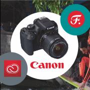 Впечатляющие снимки. Уникальные возможности. Вместе с Canon!