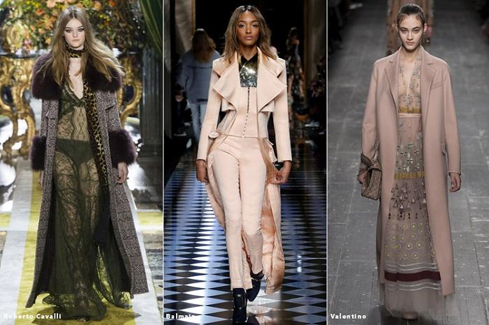 Модные тенденции осень зима 2017 фото одежда